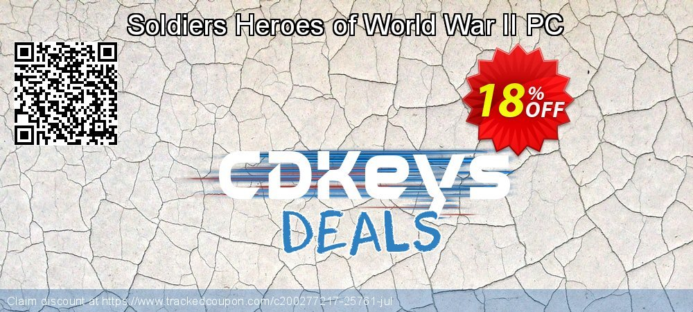 Soldiers Heroes of World War II PC coupon on Father's Day promotions