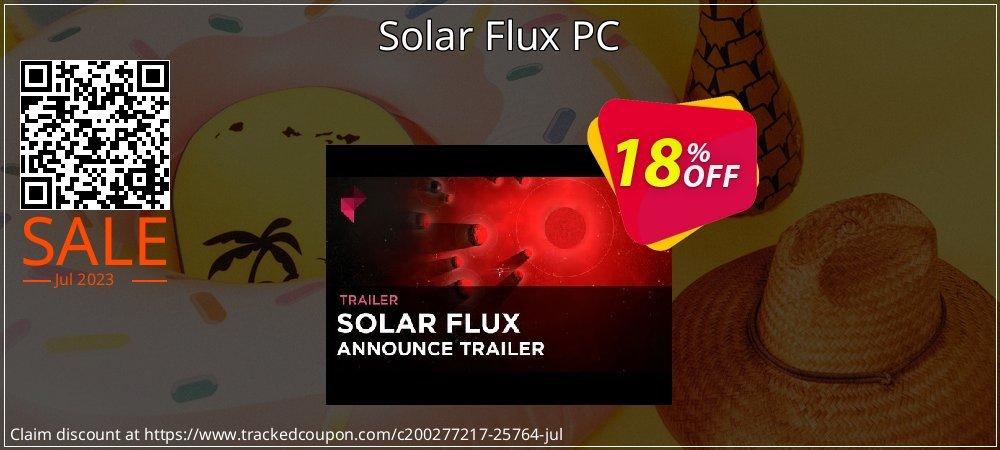 Get 10% OFF Solar Flux PC offering sales