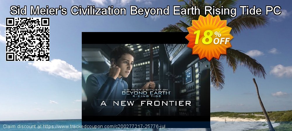 Get 10% OFF Sid Meier's Civilization Beyond Earth Rising Tide PC offering discount
