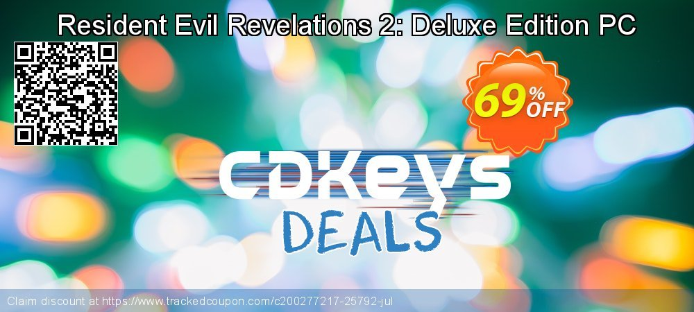 Resident Evil Revelations 2: Deluxe Edition PC coupon on World Bicycle Day discount