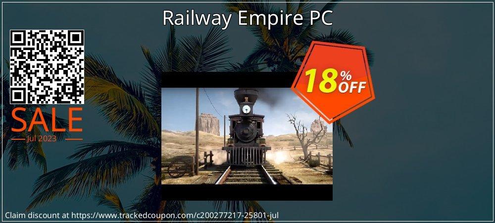 Get 10% OFF Railway Empire PC discounts