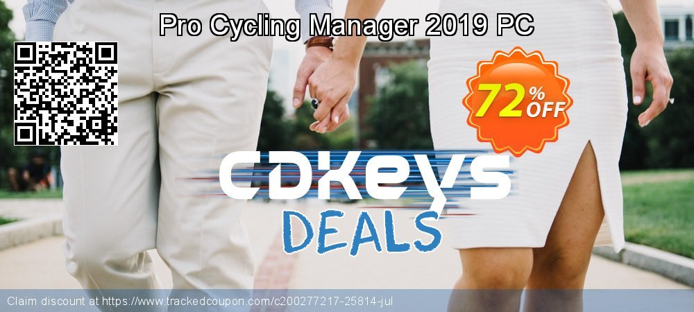 Pro Cycling Manager 2019 PC coupon on Valentine's Day discount
