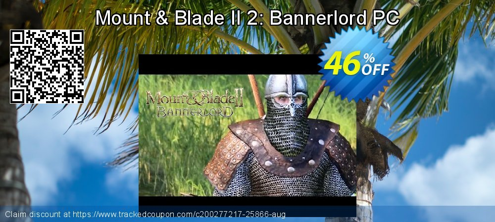 Mount & Blade II 2: Bannerlord PC coupon on Halloween sales