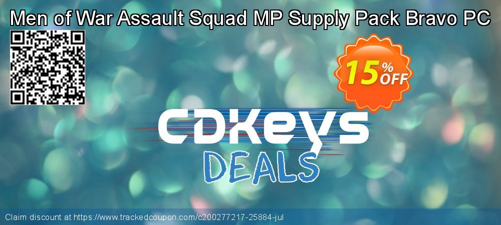 Men of War Assault Squad MP Supply Pack Bravo PC coupon on Social Media Day offering sales