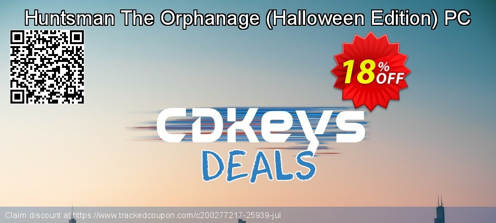 Huntsman The Orphanage - Halloween Edition PC coupon on World Day of Music super sale