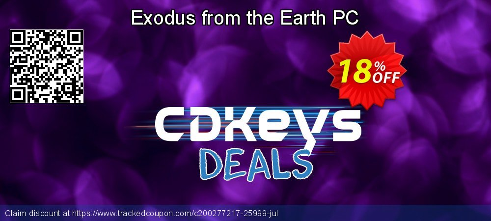 Exodus from the Earth PC coupon on Egg Day discount