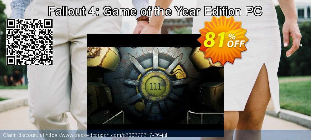 Fallout 4: Game of the Year Edition PC coupon on Mom Day discount