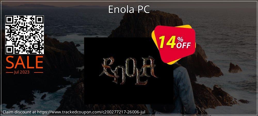 Get 10% OFF Enola PC promo sales