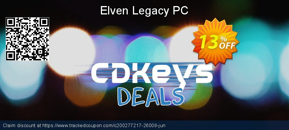 Elven Legacy PC coupon on Father's Day discount