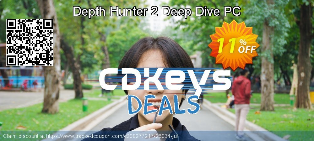 Depth Hunter 2 Deep Dive PC coupon on Father's Day offer