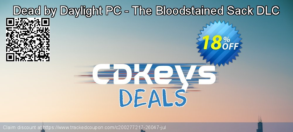 Dead by Daylight PC - The Bloodstained Sack DLC coupon on Father's Day super sale