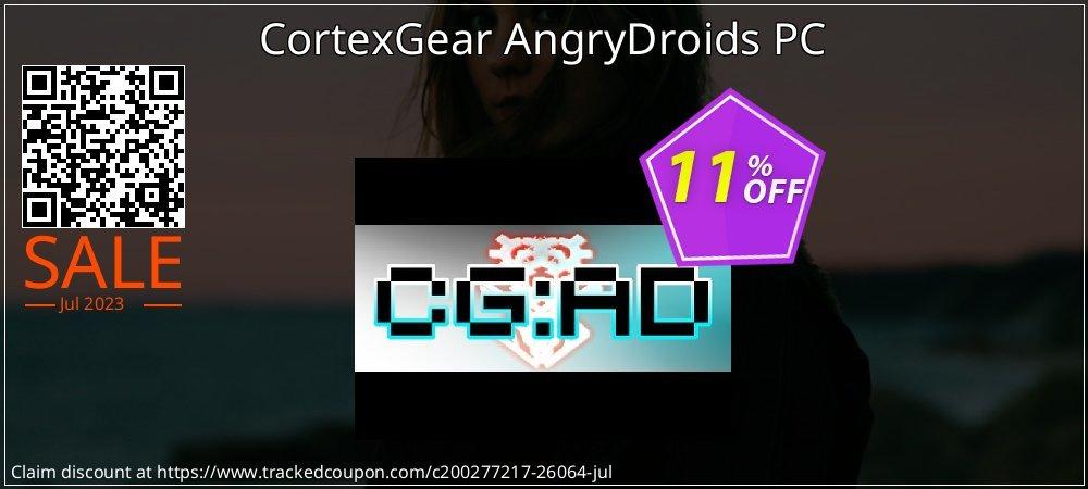 Get 10% OFF CortexGear AngryDroids PC promo sales