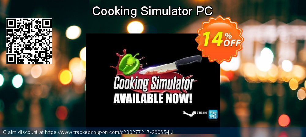 Get 10% OFF Cooking Simulator PC offering sales