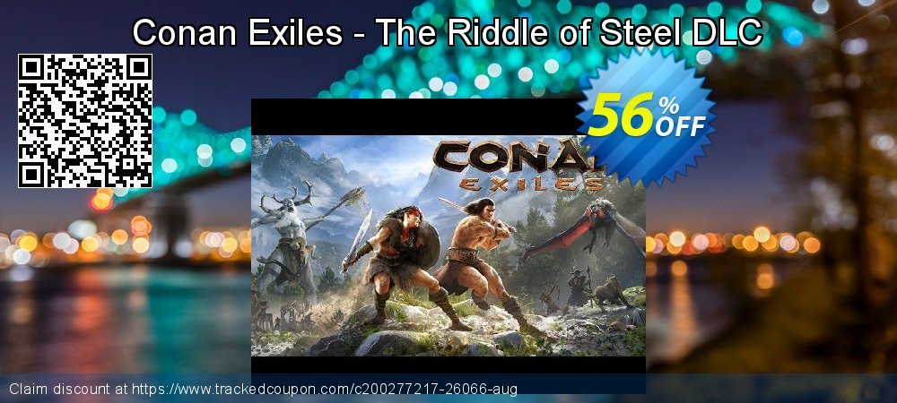 Get 49% OFF Conan Exiles - The Riddle of Steel DLC offering sales