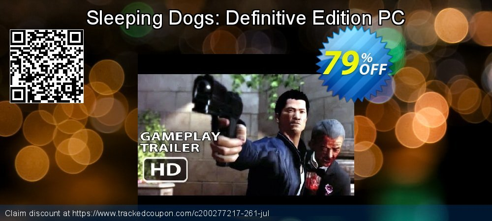 Get 85% OFF Sleeping Dogs: Definitive Edition PC offering sales