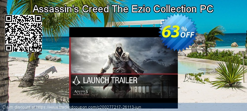 Assassin's Creed The Ezio Collection PC coupon on Black Friday offering sales