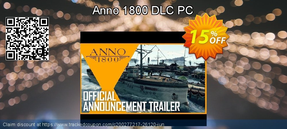 Anno 1800 DLC PC coupon on April Fool's Day offering discount