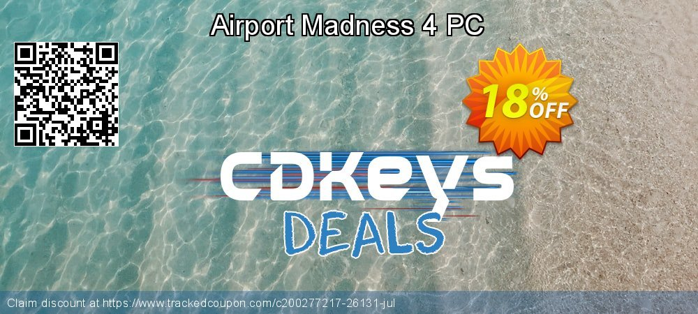 Airport Madness 4 PC coupon on Social Media Day sales