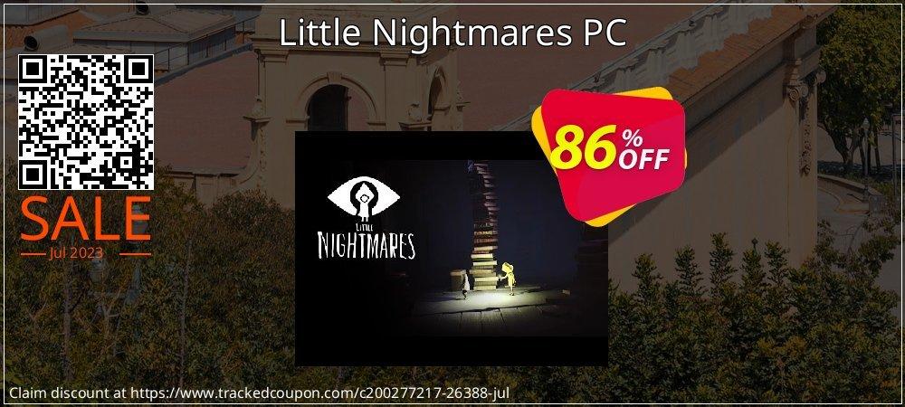 Get 83% OFF Little Nightmares PC promo