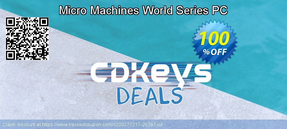 Micro Machines World Series PC coupon on Summer offering sales