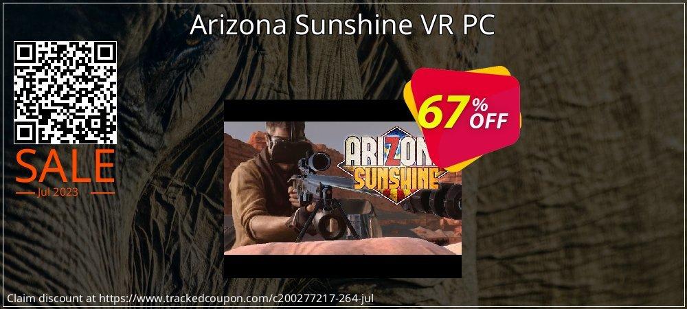 Arizona Sunshine VR PC coupon on Summer sales