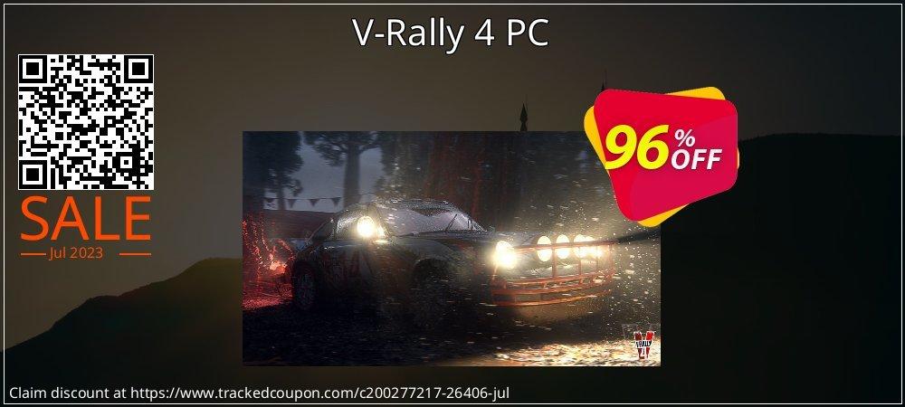 Get 97% OFF V-Rally 4 PC promo