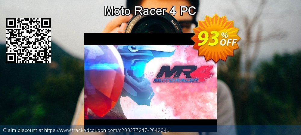 Get 95% OFF Moto Racer 4 PC promo