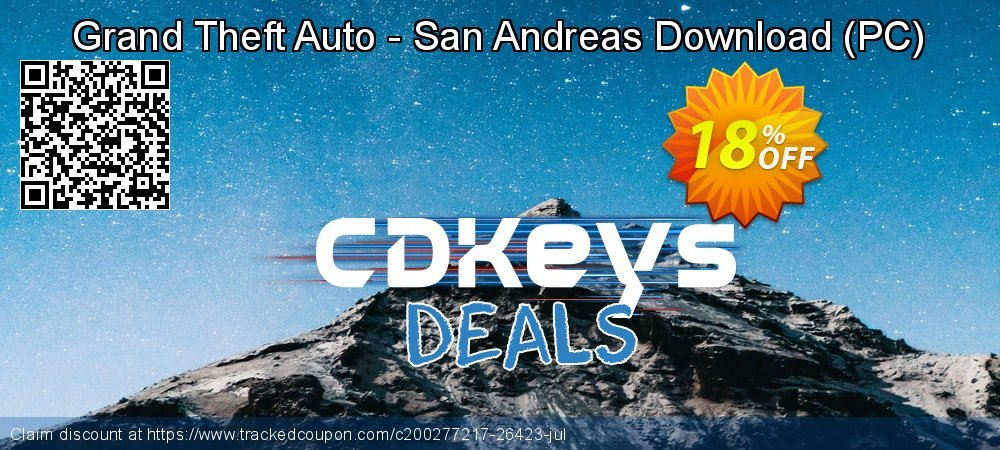 Grand Theft Auto - San Andreas Download - PC  coupon on Summer offering discount