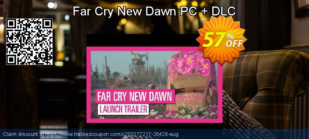 Get 56% OFF Far Cry New Dawn PC + DLC offering sales