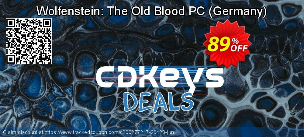 Wolfenstein: The Old Blood PC - Germany  coupon on Egg Day sales