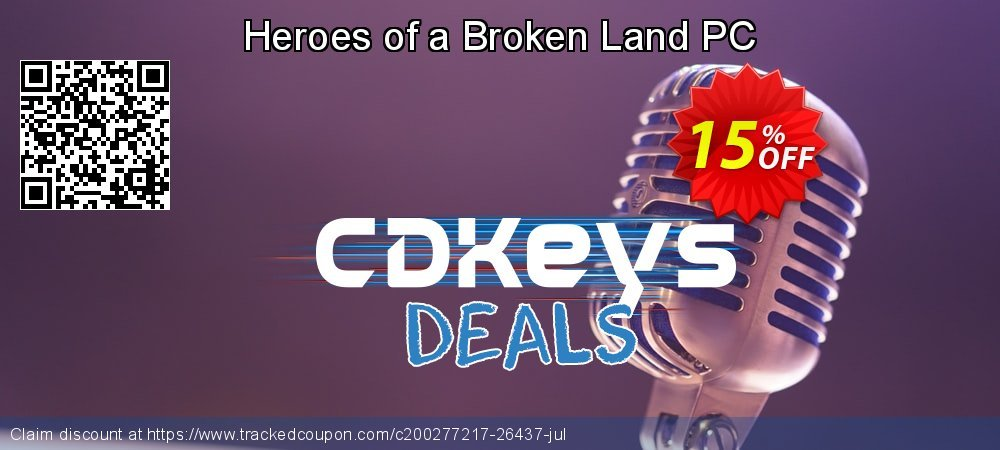 Heroes of a Broken Land PC coupon on Father's Day sales