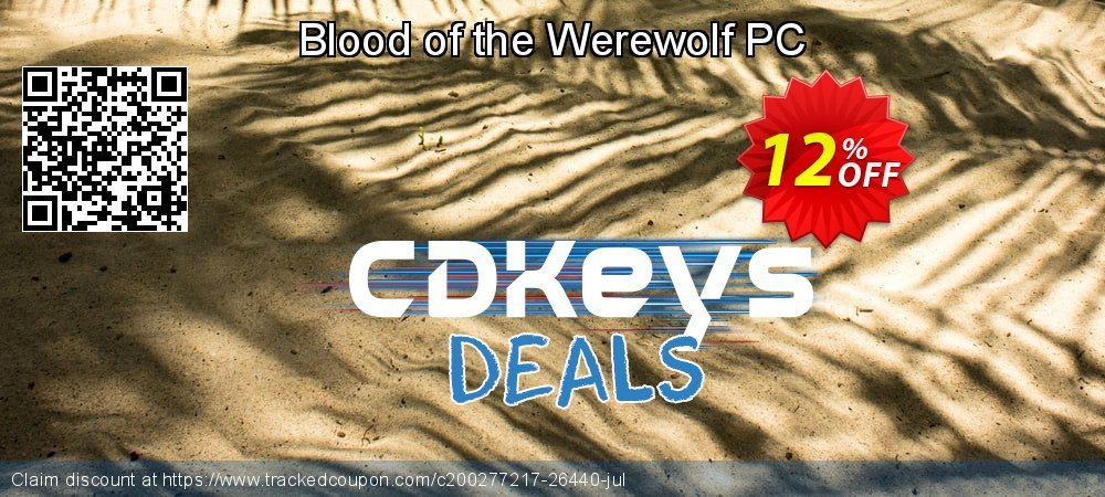Blood of the Werewolf PC coupon on World Milk Day discount