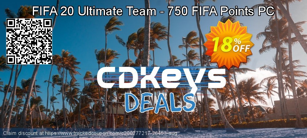 FIFA 20 Ultimate Team - 750 FIFA Points PC coupon on World Milk Day discounts