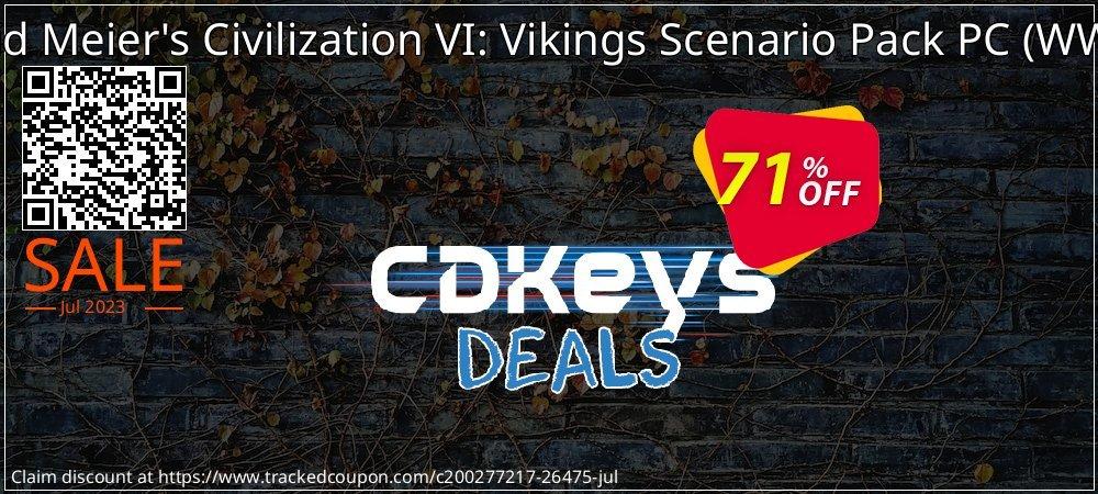 Sid Meier's Civilization VI: Vikings Scenario Pack PC - WW  coupon on Summer offer