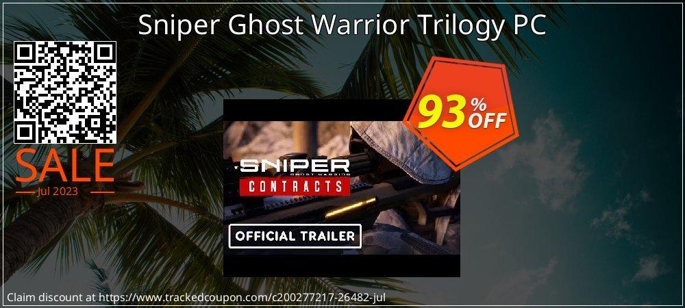 Get 95% OFF Sniper Ghost Warrior Trilogy PC offering sales