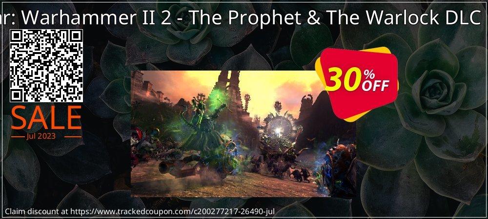 Get 14% OFF Total War: Warhammer II 2 - The Prophet & The Warlock DLC PC (WW) discounts