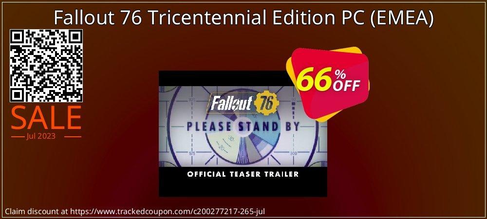 Fallout 76 Tricentennial Edition PC - EMEA  coupon on National Bikini Day deals