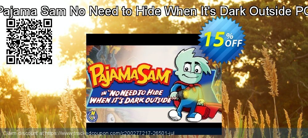 Get 10% OFF Pajama Sam No Need to Hide When It's Dark Outside PC offering sales