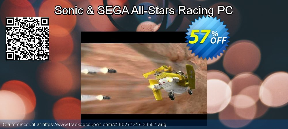 Get 54% OFF Sonic & SEGA All-Stars Racing PC offering sales