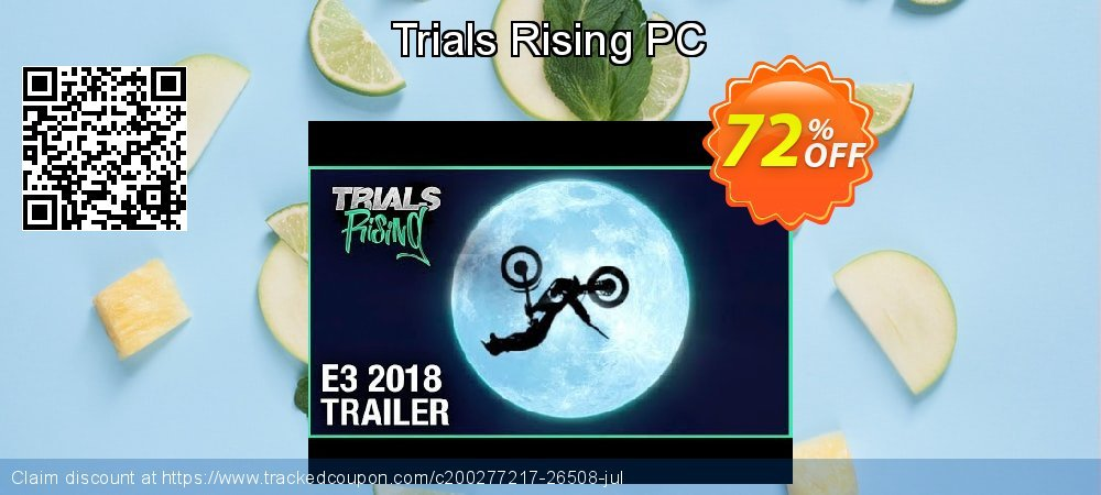Trials Rising PC coupon on Thanksgiving offering discount