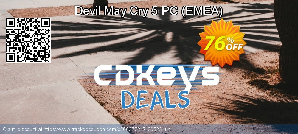 Devil May Cry 5 PC - EMEA  coupon on National Kissing Day offering sales