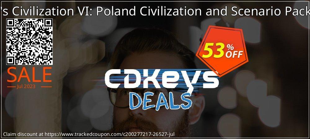 Sid Meier's Civilization VI: Poland Civilization and Scenario Pack PC - WW  coupon on Summer sales