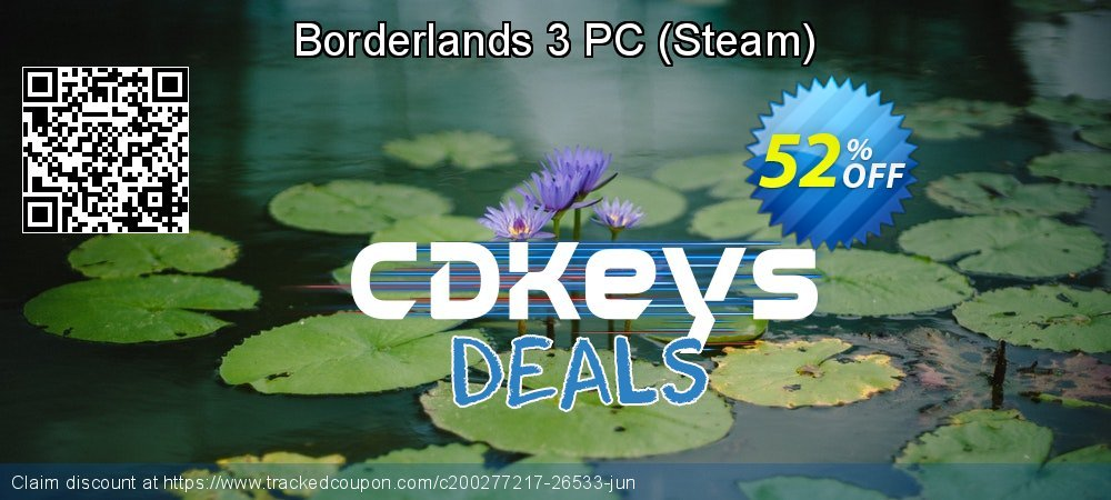 Borderlands 3 PC - Steam  coupon on World Bicycle Day super sale