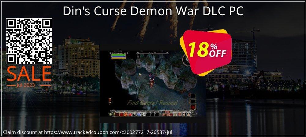 Get 10% OFF Din's Curse Demon War DLC PC offering sales