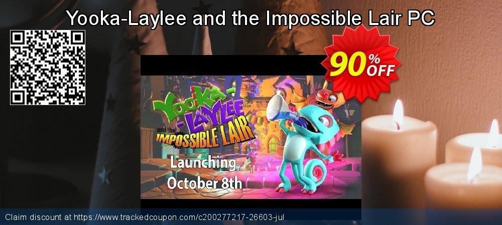 Get 91% OFF Yooka-Laylee and the Impossible Lair PC offering sales