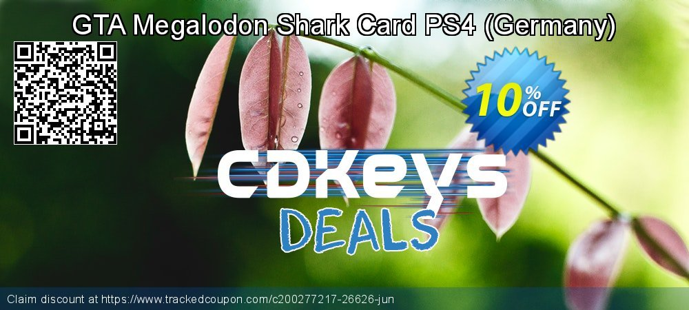 GTA Megalodon Shark Card PS4 - Germany  coupon on World Oceans Day sales