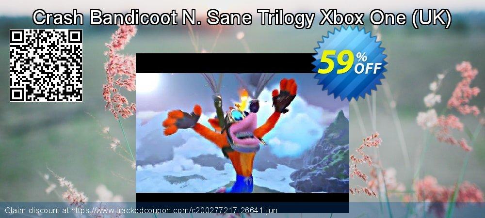Crash Bandicoot N. Sane Trilogy Xbox One - UK  coupon on World Day of Music super sale