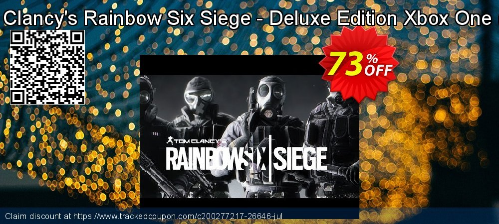 Tom Clancy's Rainbow Six Siege - Deluxe Edition Xbox One - US  coupon on National Cheese Day offer