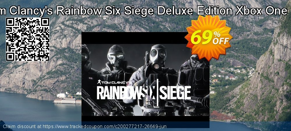 Tom Clancy's Rainbow Six Siege Deluxe Edition Xbox One UK coupon on Egg Day offering sales