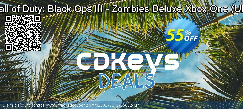 Call of Duty: Black Ops III - Zombies Deluxe Xbox One - UK  coupon on Egg Day sales